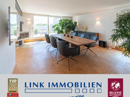 Über den Dächern Möhringens - Penthouse mit Lift!