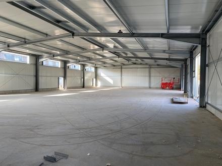 Erstbezug Dez. 2021 - Attraktive Neubau-Hallenflächen ab 400m² in idealer Lage von Viernheim