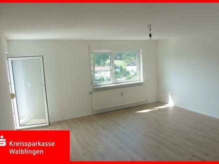 Renovierte 3-Zimmer-Wohnung mit toller Aussicht!
