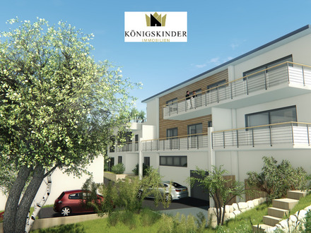 Exklusive Neubauwohnung mit großem Balkon, hochwertiger Küche u. TG-Stellplatz in erstklassiger Lage