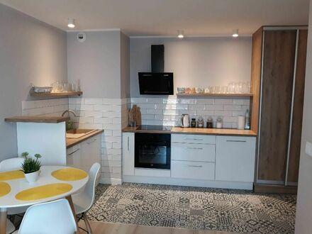 2-Zimmer-Wohnung mit Laminat, Teppich, Balkon