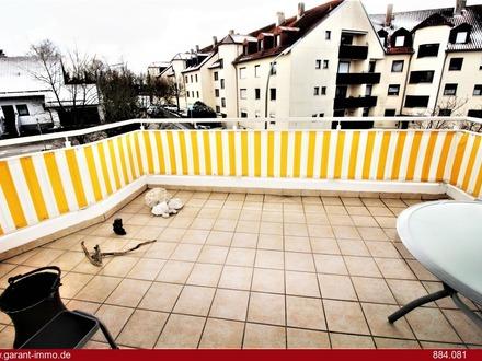 **3 Zimmer-Wohnung mit großem Balkon, TG-Stellplatz, ruhige-zentrale Wohnlage & Stadtbusanbindung**