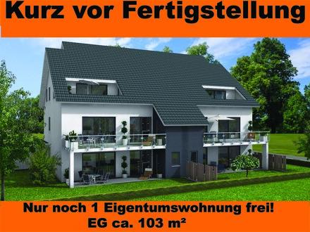 Neubau Eigentumswohnung, Erdgeschoss in Bünde Zentrumsnah!