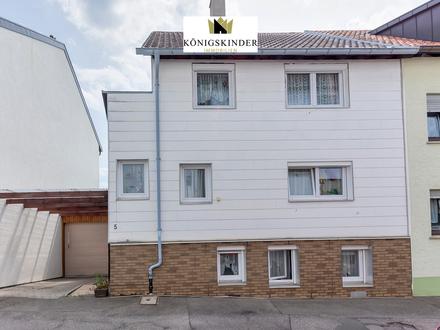 Provisionsfrei! Stadthaus! 1-2 Familienhaus mit Garten, Garage, Hobbyraum und Ausbaupotenzial