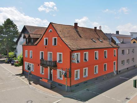 Mehrfamilienwohnhaus mit Gaststätte in zentraler Lage von Bühl