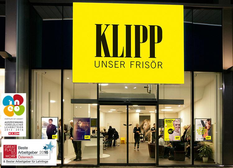 KLIPP Salon von außen