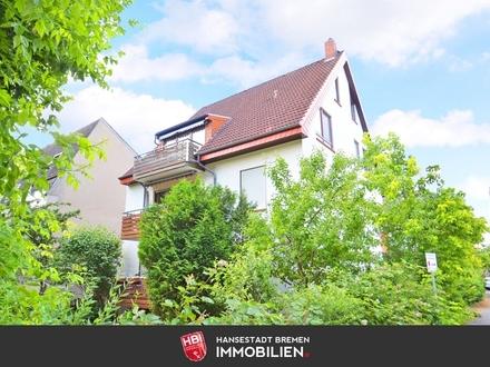 Hastedter-Osterdeich / Attraktive 3-Zimmer-Wohnung mit Süd-Balkon und Garage