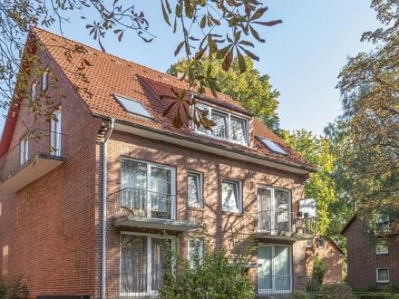 Schöne Dachgeschosswohnung als langfristig rentables Investment