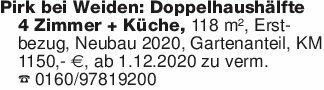 Pirk bei Weiden: Doppelhaushäl...
