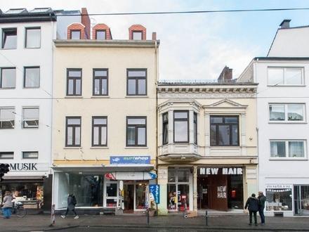 Ladenflächen im stark frequentierten Ostertosteinweg