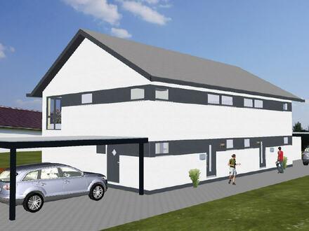 Doppelhaus in Hille-Zentrum