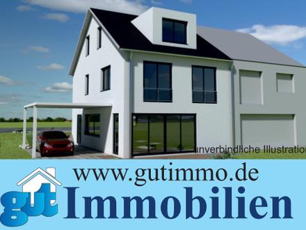 """""""Sehr großzügig wohnen in beliebter Rand- und Aussichtslage!"""" Moderne und sonnige DHH in Heimsheim"""