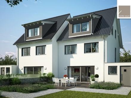Moderne Doppelhaushälfte, massiv gebaut mit Keller (inkl. Grundstück & Baunebenkosten)