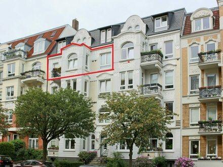 Denkmalgeschützte Altbauwohnung auf der westlichen Höhe - ca. 15 Gehminuten bis zur Innenstadt!