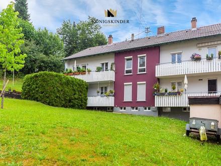 Moderne 3-Zimmer-Wohnung mit 2 Balkonen in grüner Lage in Reichenbach zu verkaufen