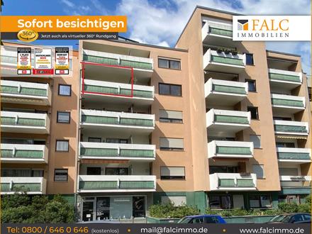 Falc-Nürnberg Einzimmerapartment mit Balkon und Küche in der Fürther Südstadt