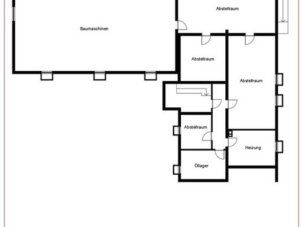 Wohnhaus mit Büroeinheit und Lagerräumen auf großem Grundstück