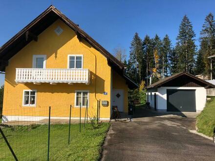 Einfamilienhaus mit großem, sonnigen Garten und Garage; manuel.kendler@gmx.at