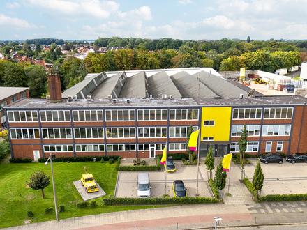 Individuell ausbaubare Büroflächen im Hemelinger Gewerbepark