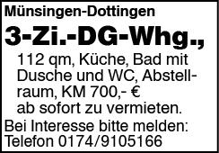 3 Zi. DG Whg.