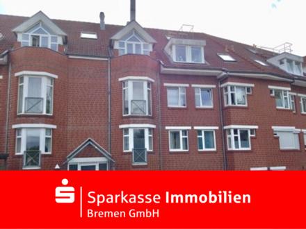 4-Zimmer-Wohnung im Hochparterre mit 2 Tiefgaragenstellplätzen in beliebter Lage von Obervieland