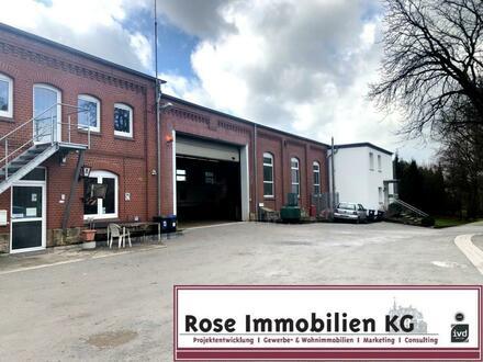 ROSE IMMOBILIEN KG: 9.300m² Grundstück mit Werkstatt und Mehrfamilienhaus!