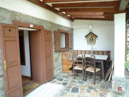 Terrasse + Eingang