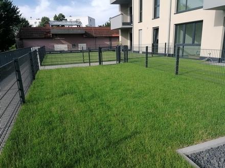 Exklusive 2-Zimmer-Erdgeschoss-Wohnung mit Gartenanteil!