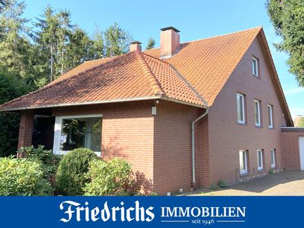 **Befristeter Mietvertrag bis 2025** Großz. Wohnhs. m. Garage und zwei Terrassen in Edewecht-Süddorf