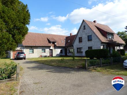 Schön gelegenes großzügiges Einfamilienhaus in mitten der Natur am Fuße des Stemweder Berges