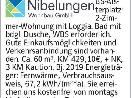 2-Zimmer Mietwohnung in Braunschweig (38120) 60m²