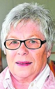 Ortsbürgermeisterin  Bärbel Schenk