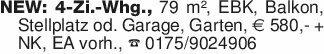 NEW: 4-Zi.-Whg., 79 m², EBK, B...