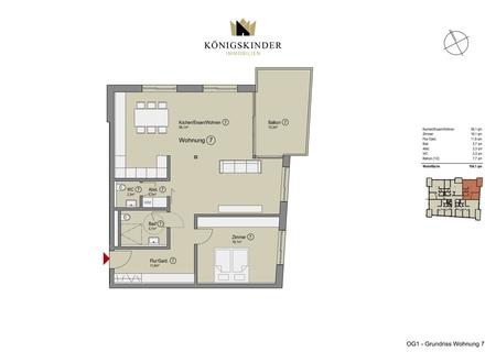 Barierefreie 2-Zimmer Wohnung in traumhafter Lage von Bad Rappenau