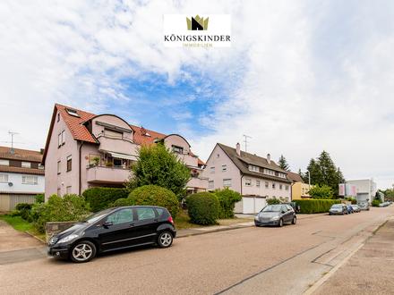 Helle 2-Zimmer Maisonette-Wohnung mit Keller+Garage in attraktiver Lage Reichenbachs zu verkaufen
