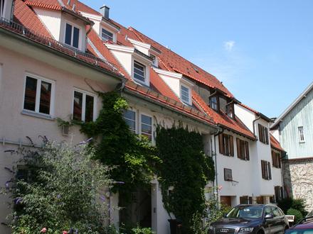 Außergewöhnliche Maisonette mit Tiefgaragenplatz in der Altstadt von Kaufbeuren.