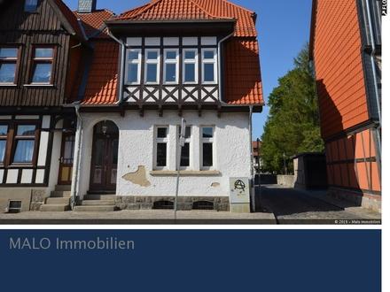 Anlageobjekt in Wernigerode: Charmantes Stadthaus mit drei Wohnungen