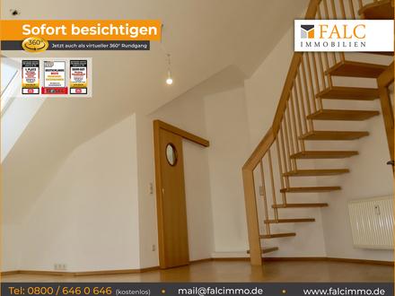 Galerie-Maisonette-ETW, Süd-Balkon. Bezugsfrei. Gepflegte Anlage. Daimlerstraße 1 - 93077 Bad Abbach