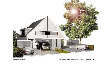 Moderne Neubau-DHH in Hollage