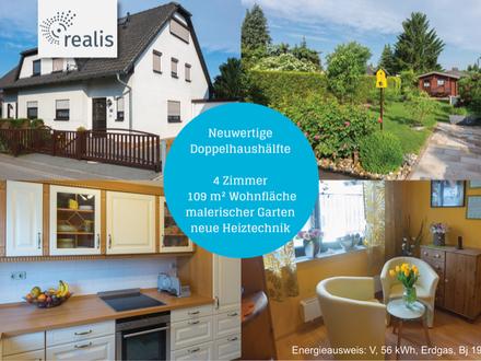 NEUWERTIG UND TRAUMHAFT+Wohlfühl-Doppelhaushälfte in Lichtenau-Auerswalde+4 Zimmer für die glücklich