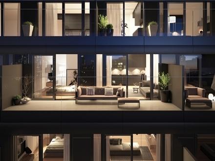 LEBEN ÜBER DEN DINGEN: 2-Zimmer-Wohnung mit Skylineblick