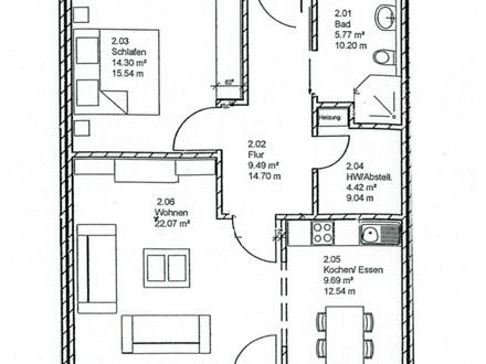 Objekt Nr. 00/565 Super Erdgeschosswohnung mit Terrasse, Carport und Geräteraum im Feriengebiet Saterland