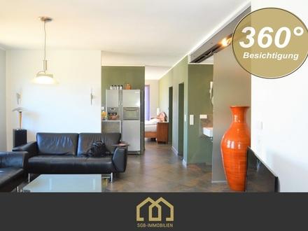 Innenstadt / Individuelles 2-Zimmer-Loft mit Süd-West-Balkon
