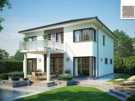 Moderne Stadtvilla mit Balkon für laue Sommerabende! (inkl. Grundstück)