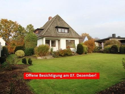 Mitten in Huchting – super gepflegtes 1-2 Familienhaus zum sofortigen Bezug!