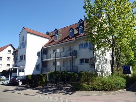 Kapitalanlage! 2-Zi.-Wohnung mit Balkon in Neu-Ulm/Offenhausen