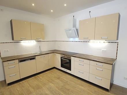 Schicke, moderne, großzügige 2-Zimmer-Wohnung mit neuwertiger Einbauküche und Stellplatz - Creidlitz