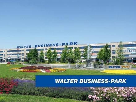 Modernes Büro (147 m²) inkl. Lager (149 m²) mit perfekter Infrastruktur im WALTER BUSINESS-PARK, provisionsfrei!