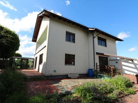 Gepflegtes 1-2 FH, mit 8 Zimmern, guter Raumaufteilung, herrlichem Garten mit Teich in Lorch/Ransel.