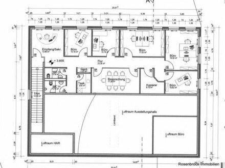 "Büro ohne Kompromisse (ca. 142 qm) im Schornsheimer Gewerbegebiet ""An der B420"", ab sofort planbar"